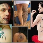 Cool Spider Tattoo Designs